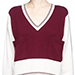 Chloé Colourblock Pocket Cashmere Sweater