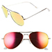 Diff Eyewear Cruz 57mm Aviator Sunglasses, Red/Gold