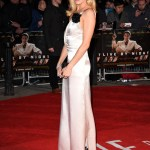 """Sienna Miller in Lanvin Draped Satin Gown at """"Live By Night"""" London Premiere (Jan 11, 2017)"""
