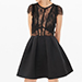 Sandro Davina Lace Dress
