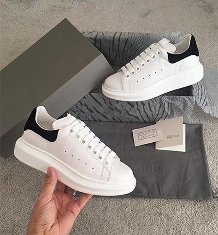 #towie Chloe Lewis, Alexander McQueen Extended Sole Sneakers (Instagram, Nov 4 2016)