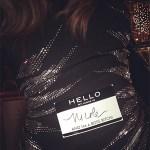 Nicole Lapin in Stella McCartney Waist Detail Stretch Cady Sheath Dress - Instagram March 26, 2017