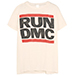 MadeWorn Run DMC Distressed Printed Cotton-jersey T-shirt in off-white