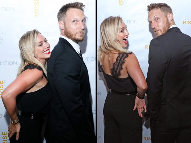 Hillary and Jason | Hilary Duff Not Dating Her Personal Trainer