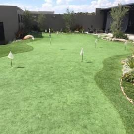 backyard putting green installation Arizona