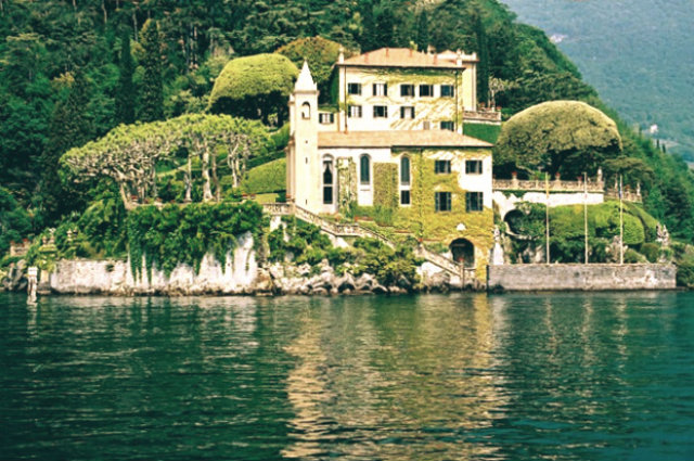 Celebrity Homes | George Clooney - Italian Villa Home - Lake Como
