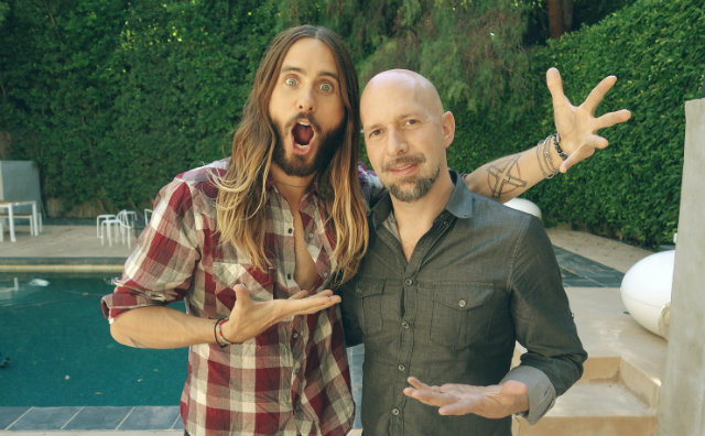 Celebrity homes Jared Leto and friend