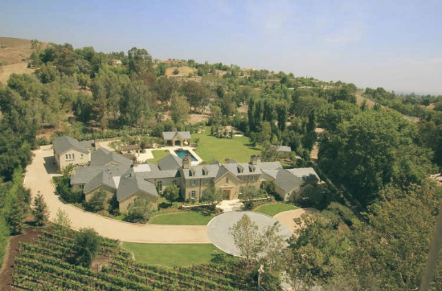Top 10 — Celebrity Homes in Los Angeles | Kim Kardashian and Kanye West | Hidden Hills