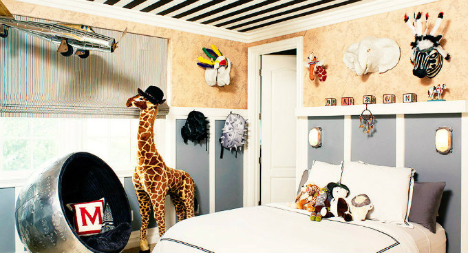 Inside Celebrity Homes – Kids Bedrooms_Kourtney Kardashian's Son