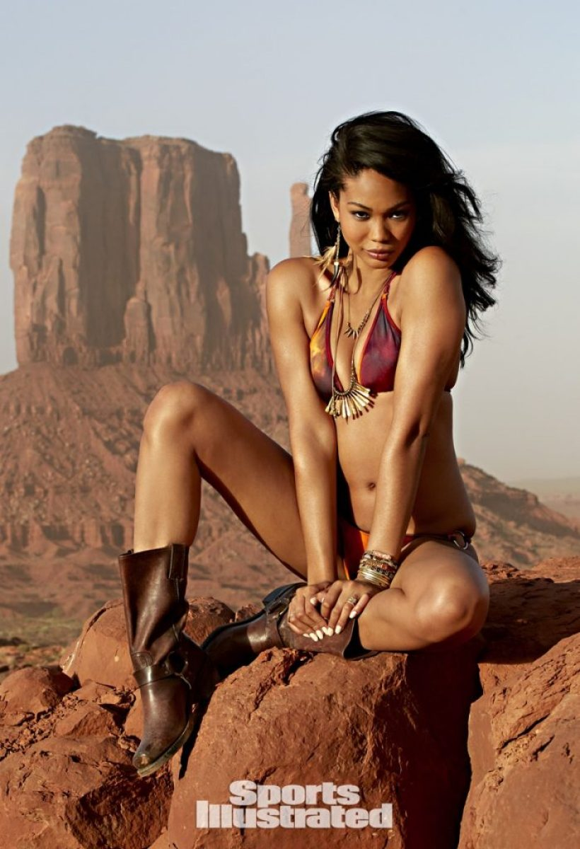 Chanel Iman Celebrity Gossip: Sports Illustrated Swimsuit