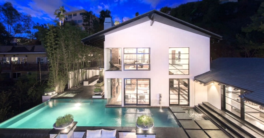Celebrity News Calvin Harris' Los Angeles Dream House (5)