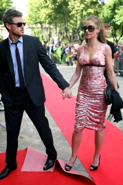 Rebecca Gayheart and husband Eric Dane