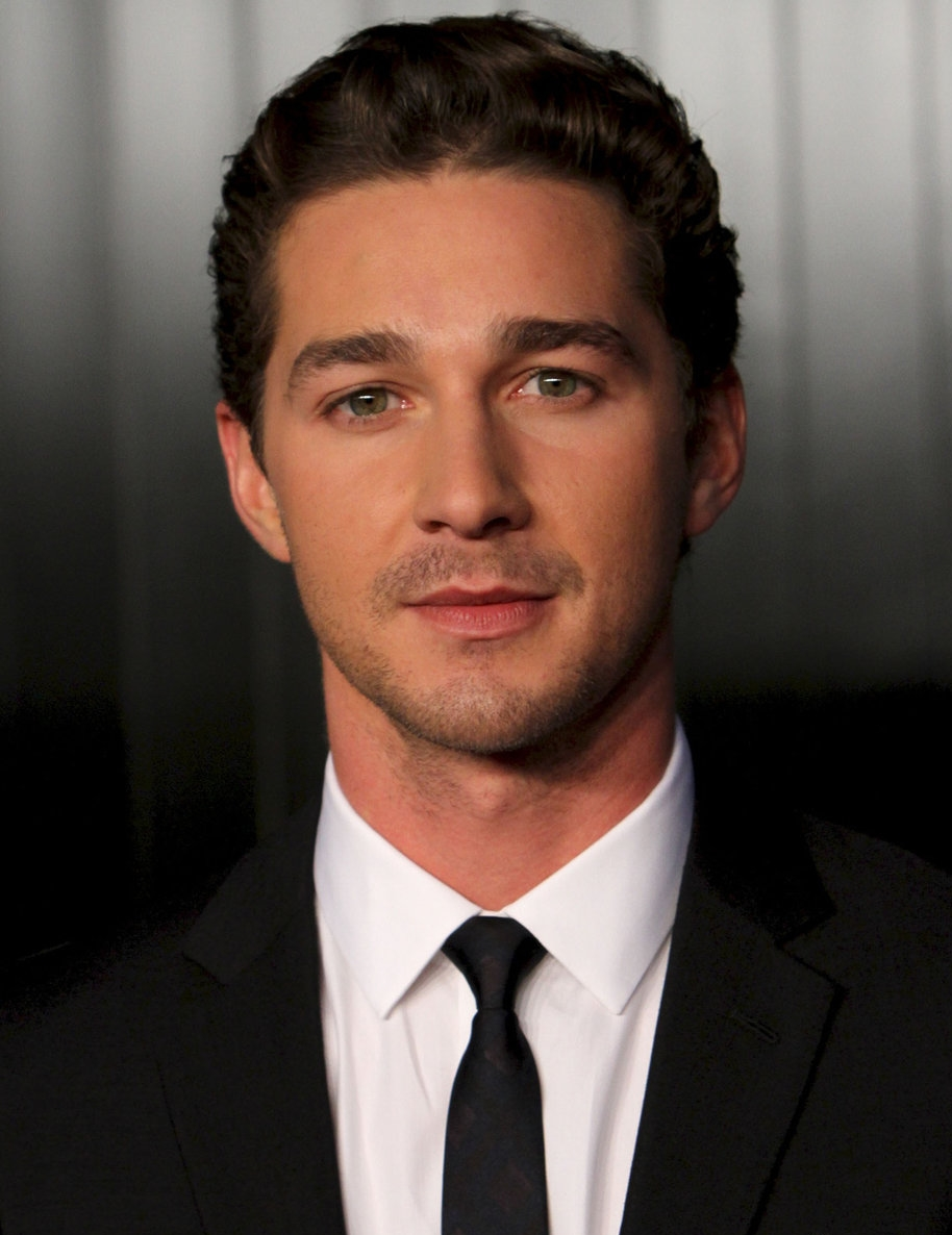 Shia LaBeouf Favorite Things Color Food Music Books ... Shia Labeouf