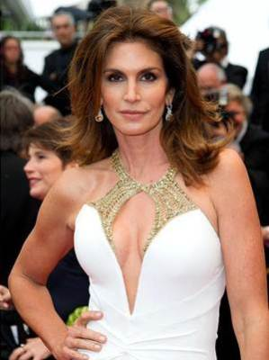 Cindy Crawford Body Measurements Shape Type