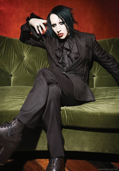 Marilyn Manson Favorite Color Food Book Bands Movies