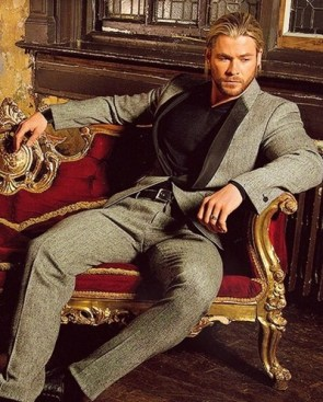 Chris Hemsworth Favorite Things
