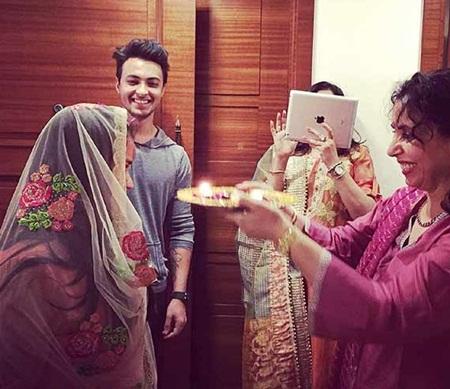 Arpita Khan and Aayush Sharma Wedding Pictures 2