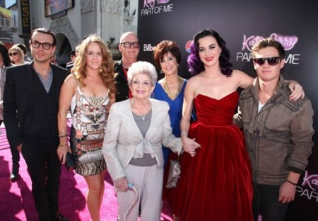 Katy Perry Family Tree