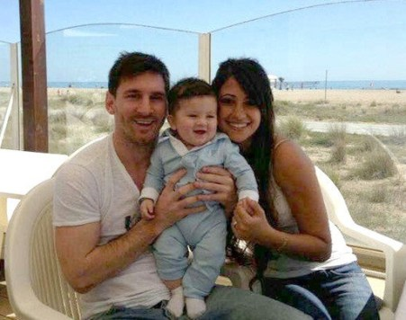 Lionel Messi Son