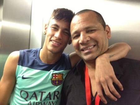 Neymar Jr Father Picture
