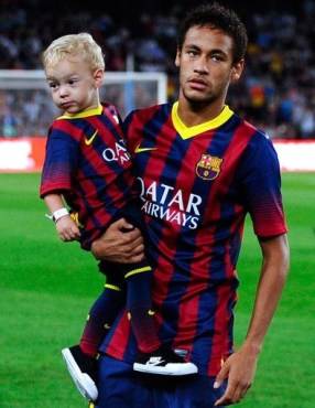 Neymar Jr Son Pictures