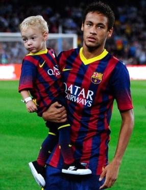 Neymar Jr Son Pictures