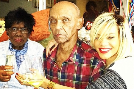 Rihanna Grandparents