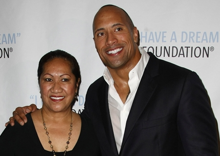 Dwayne Johnson Mother