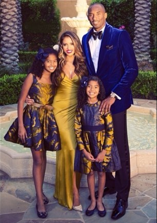 Kobe Bryant Wife and Children