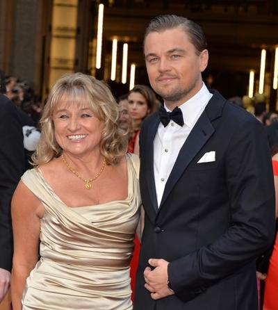 Leonardo DiCaprio Mother