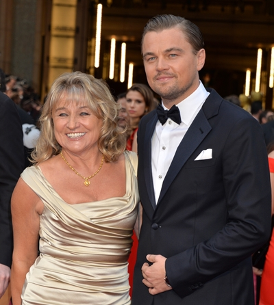 Leonardo DiCaprio Mother