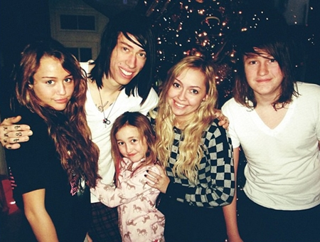 Miley Cyrus Siblings