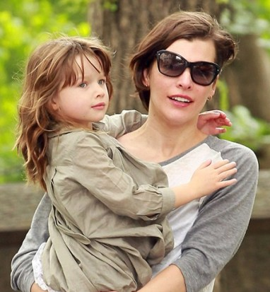 Milla Jovovich Daughter