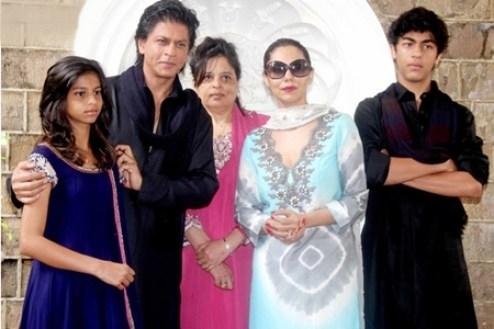 Shahrukh Khan Wife And Kids 2015