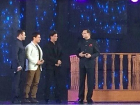 Salman, SRK and Aamir Khan on Aap Ki Adalat
