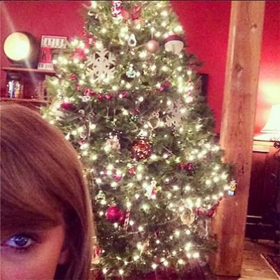 Taylor Swift Christmas Tree 2014