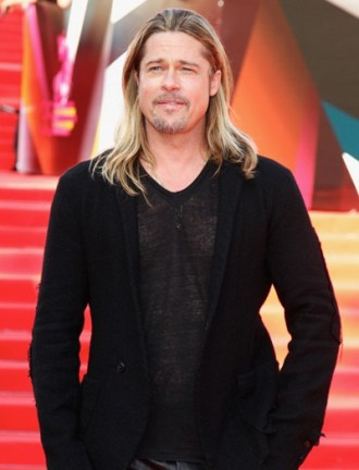 Brad Pitt Height Weight Chest Size