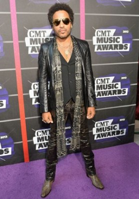 Lenny Kravitz Body Measurements