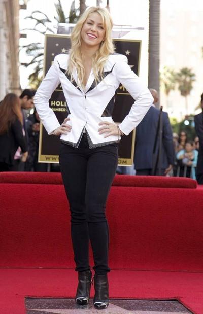 Shakira   Body Measurements
