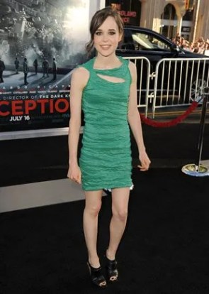 Ellen Page Body Measurements