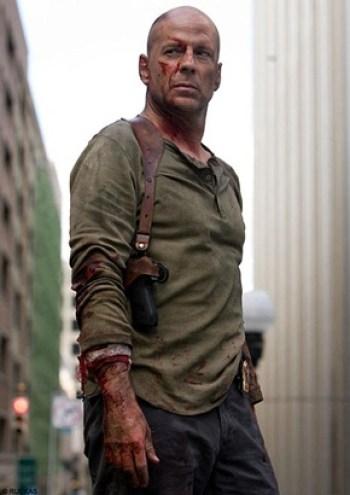 Bruce Willis Height Body Shape