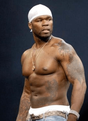 50 Cent Body Measurements