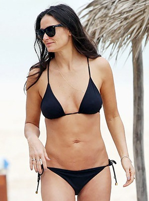 Demi Moore Body Measurements