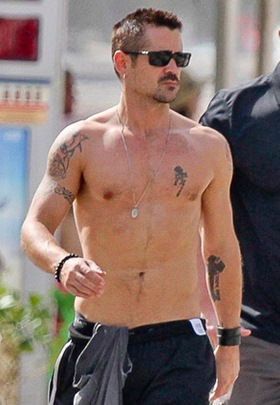 Colin Farrell Body Measurements