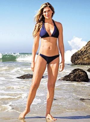 Gabrielle Reece Height Body Shape