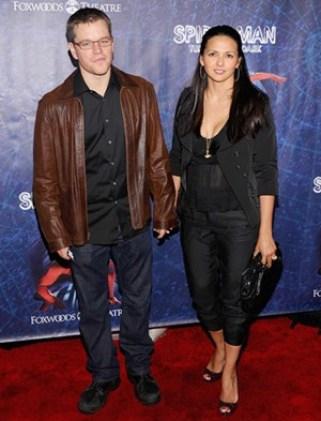 Matt Damon Height Body Shape