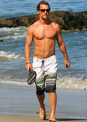 Matthew McConaughey Height Body Shape