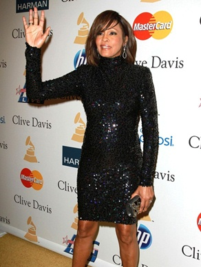 Whitney Houston Body Measurements