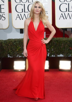Emmys 2012: Homeland&#39-s Claire Danes pays tribute to her husband ...
