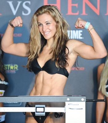 Miesha Tate Body Measurements Bra Size Height Weight